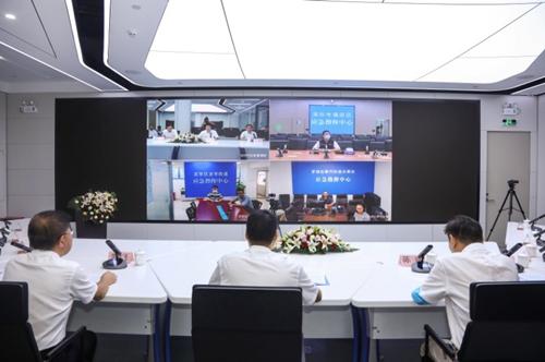 附图3:广东省应急指挥调度系统视频会商和值班值守子系统(深圳)启动仪式现场照片.jpg